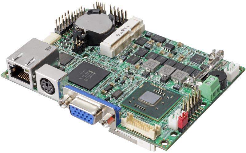 Pico-ITX  одноплатный компьютер Intel? Atom? D2550 1.86 GHz Commell LP172D5