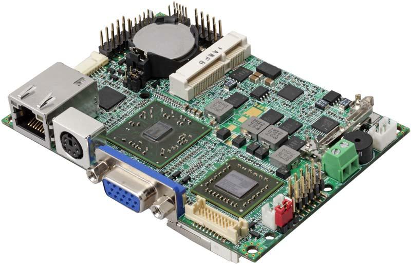 Pico-ITX  одноплатный компьютер AMD Dual-core T56N 1.6 GHz Commell LP180D