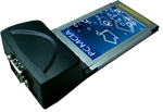 1 порт RS232 CARDBUS (PCMCIA) megapower MP952CBR1