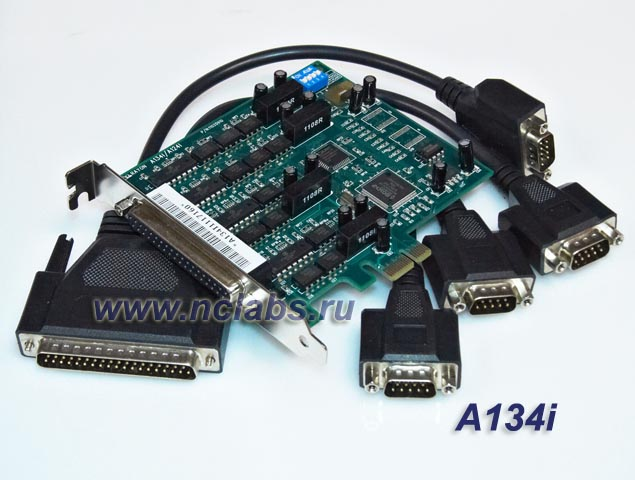Isolated multiport serial  board PCI-E