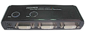 DVI mini switch 4->1 Chipsetcomm HD-400S