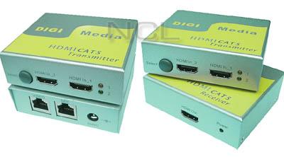 HDMI CAT5 extender Digi Media HEB-201