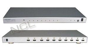 HDMI splitter w/switch 2->8 Digi Media SP-228