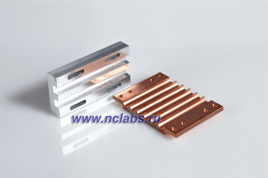 Изделия из тепловых трубок: теплосъемные площадки, пластины NCL TMR1004