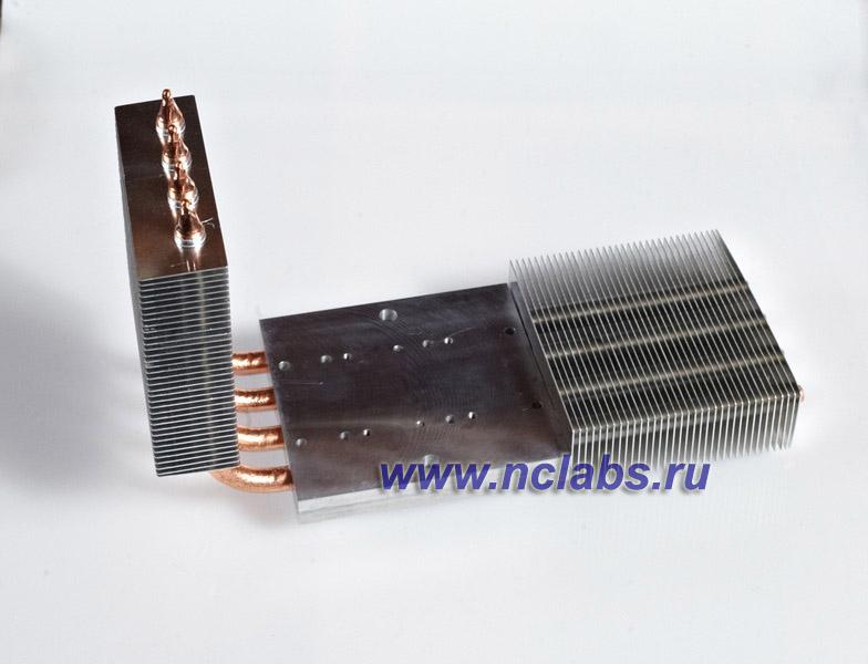 Тепловые трубки: cистема охлаждения электронного модуля NCL TMR1006