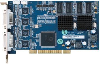Плата видеозахвата с аппаратным сжатием 16 каналов 400 кадров /сек. NVision NG4116HC