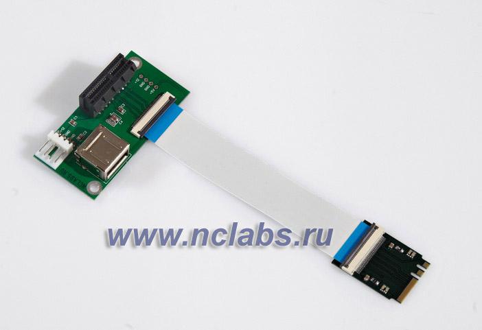 Адаптер PCI-E в M.2/NGFF NCL GC-EMX16M2E