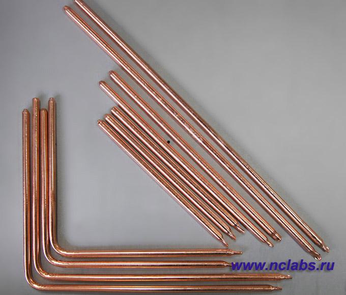 Тепловые трубки Г-образные NCL heatpipe-L6