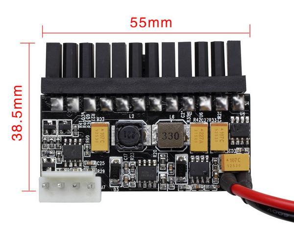 Преобразователь 'picoPSU' 12V->ATX NCL LR1108