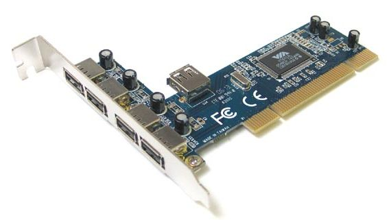 Контроллер USB, PCI (4+1 порт USB2.0) megapower MP6202C