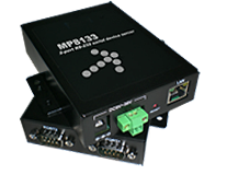 2x RS-232 to Ethernet server megapower MP8133R2