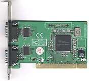 Четырехпортовая плата RS232  (16C950), Oxford чип Winic W954-4S2