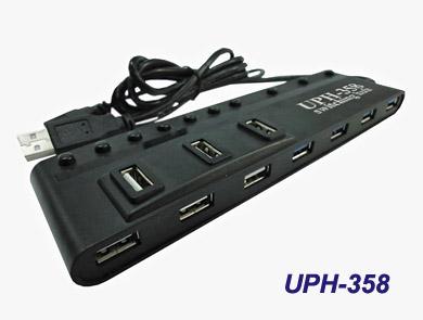 USB концентратор-коммутатор на 10 портов MagicView UPH-358
