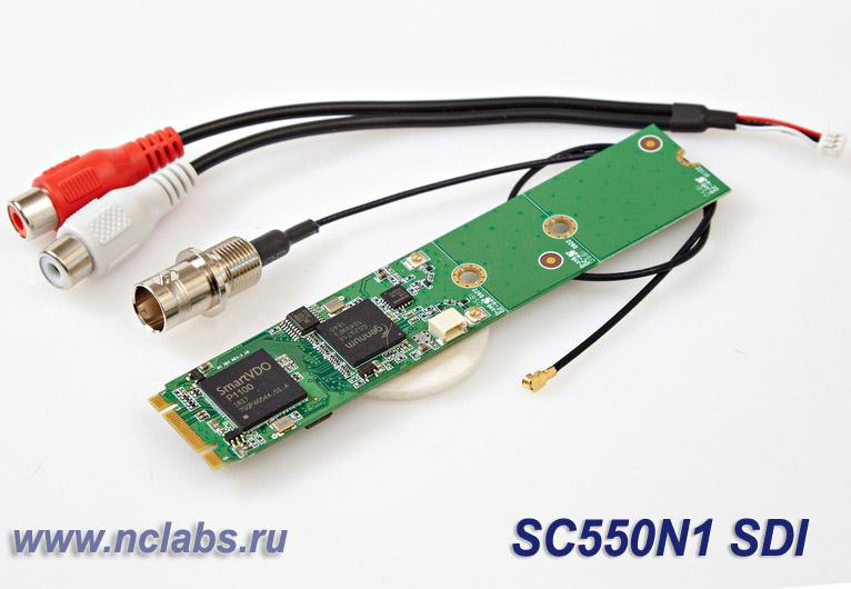 Плата видеозахвата М2 со входом SDI NCL SC550N1-SDI M2