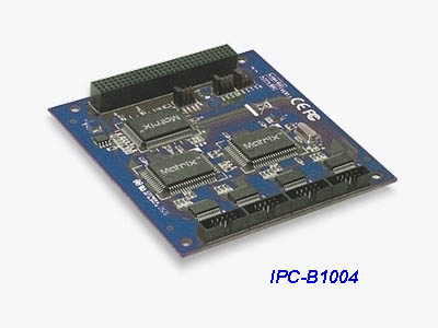 Промышленная мультипортовая плата 4*RS-232 serial card, PCI/104 (PC104 Plus) sunix IPC-B1004