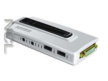 LAN/USB 2.0 – VGA/DVI адаптер + аудио NCL UGA14N1