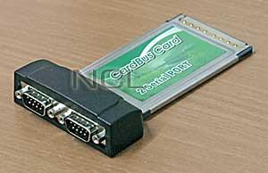 Адаптер PCMCIA/RS-232 (2 serial) 2 com порта winic W-PC232-2S