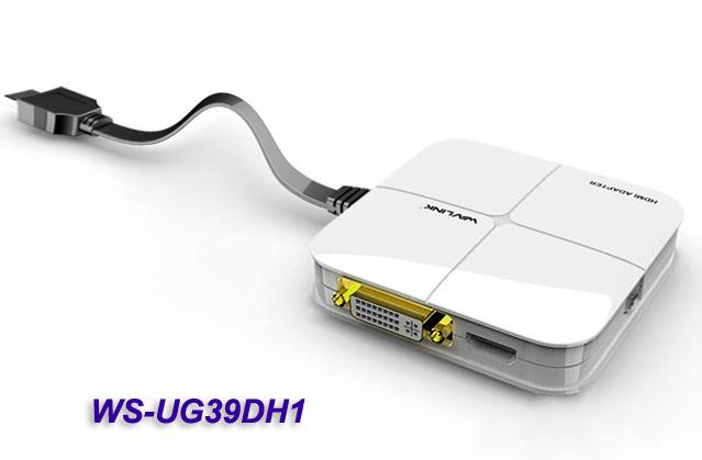 Видеоадаптер USB 3.0 HDMI+DVI Winstar WS-UG39DH1