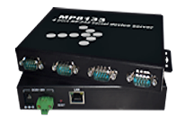 4x RS-232 to Ethernet server megapower MP8133R4