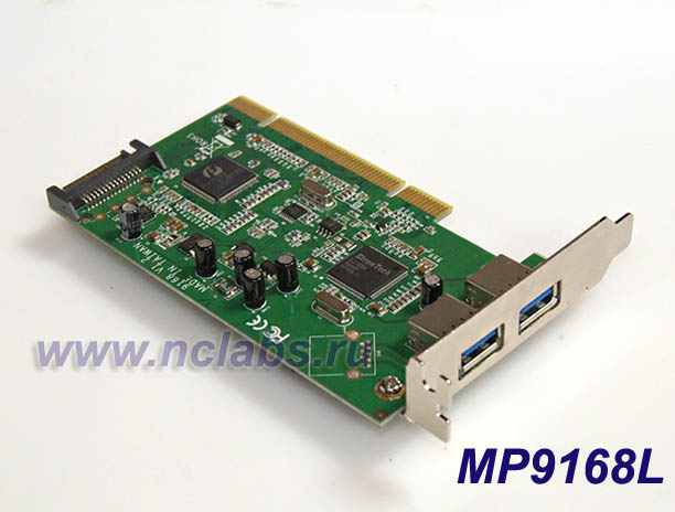 Контроллер PCI USB 3.0 MP9168L