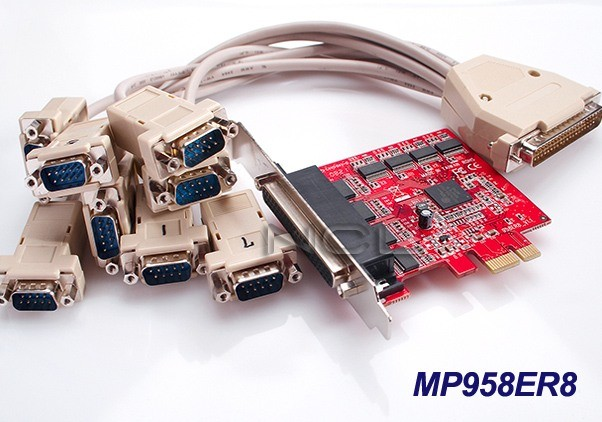 Контроллер PCI-E RS-232 8 Com-портов (Oxford chip) megapower MP958ER8
