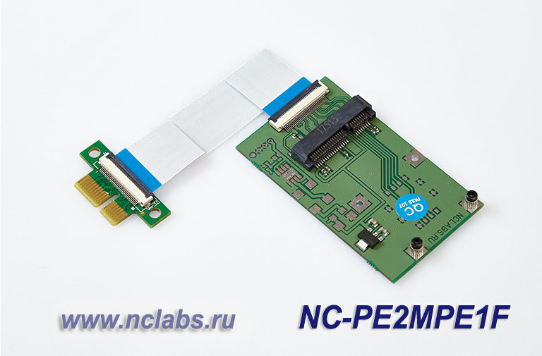 Adapter PCI-E to mini PCI-E NCL NC-PE2MPE1F