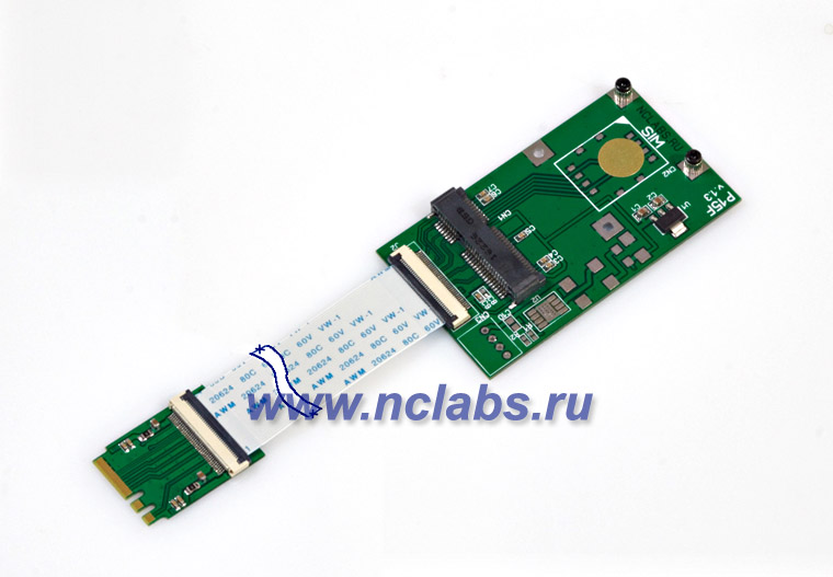M2 to mini PCIe adapter NCL P15S-P15F