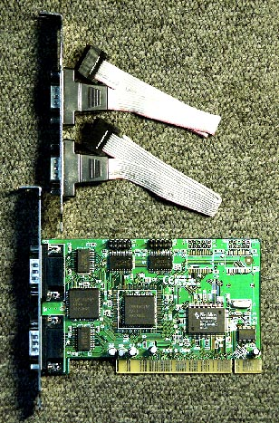 PCI-X 4 Serial RS-232 (16С550), Netmos chip syba F-PIO9845-4S
