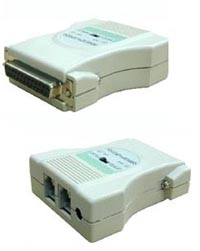 RS232 to RS422/RS485 converter, RJ11 w/o power option – преобразователь RS232 в RS422/RS485 winic W2422B